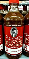Demitriand039s All Natural Bloody Mary - Chilies And Peppers 16oz. 2-pack