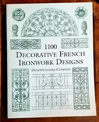 1100 Decorative French Ironwork Designs Dover Pictorial Archive By Denonvil…