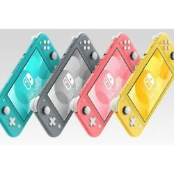 New Nintendo Switch Lite Handheld Video Game Console - Choose Your Color