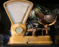 Vintage Dayton - Ibm Candy Coffee Calculating Scale 1933