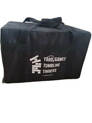 Yard Games Giant Tumbling Timbers Blocks Camping Fun Play With Carrying Case