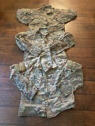 Military Jacket Perimeter Insect Guard Multicam Camouflage Men Size Small Short