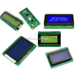 1601/1602/1604/0802/2004/12864 Lcd Display Module 3.3v/5v Character For Arduino