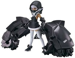 New Max Factory Figma 198 Black Rock Shooter Strength Tv Animation Ver. Figure