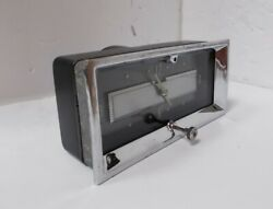 Original 12v Clock For A 1953 Cadillac. Serviced. Tested And Working. 53
