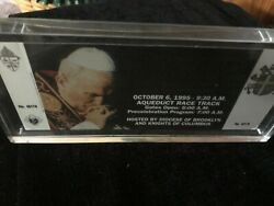 Knights Of Columbus - 1995 Papal Ticket