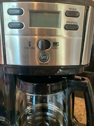 Hamilton Beach 2-way Brewer Coffee Maker Single-serve And 12-cup Pot Stainless