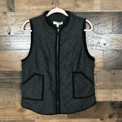 41 Hawthorn Zip Up Vest Womens Size Large Nwt