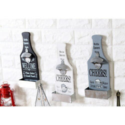 Vintage Wall Mounted Beer Bottle Opener Antique Old Style Wall Decoration - 3