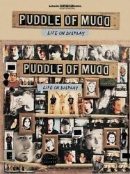 Puddle of Mudd LIFE ON DISPLAY Authentic GUITAR TAB Edition Standard 12 songs $19.95