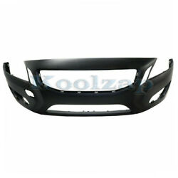 11-13 S60 2.5l/3.0l Front Bumper Cover Assembly Primed W/o Headlamp Washer Holes