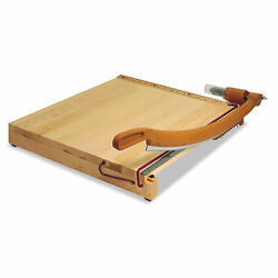Swingline Classiccut Ingento Solid Maple Paper Trimmer 15 Sheets Maple Base 24 X