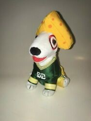 Target Dog Green Bay Packers Cheese Head Dog Stuffed Toy - Only One Ever Made
