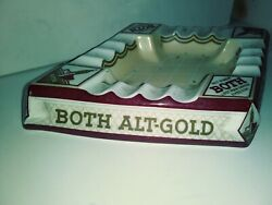 Antique Cigar Ashtray Collectible .architectural Design Made In Germany.