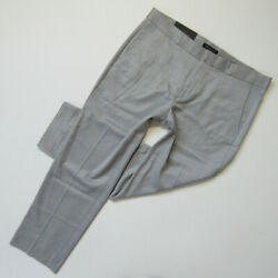 Nwt Banana Republic Avery Fit In Light Gray Lightweight Ankle Pants 12 98