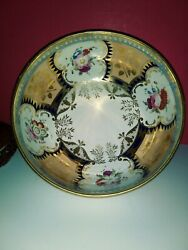 Antique English Bowl In Porcelain 93/4 Christies Provenance