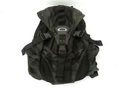 Oakley Icon 2.0 Tactical Military Backpack Black Pre owned Faded $55.00