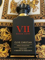 Clive Christian Noble Collection Queen Anne Vii Rock Rose 50ml 1.6oz Men