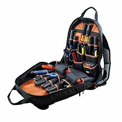 17.5 in. Tool Gear Backpack Klein Tradesman Pro Jobsite Contractor Back Pack Bag $105.69