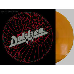 Dokken - Breaking The Chains Limited Gold Colored Anniversary Vinyl Lp