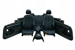 Bmw F32 M-package Interior Leather Seats Sport Console Nachtblau Set Lhd