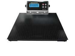 Op-916 48 X 60 4and039 X 5and039 Industrial Digital Floor Scale 30.000 Lb X 5 Lbs