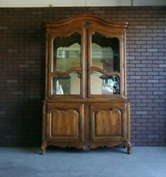 Hutch China Cabinet Country French China Cabinet By Ethan Allen