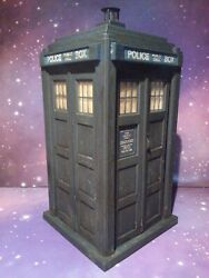 6th Doctor Who Classic Tardis 1980s Police Box Figure 8 Tall Loose Sixth Dr