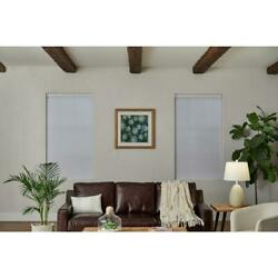 PRE CUT Home Decorators Blackout Polyester Cellular Shade White