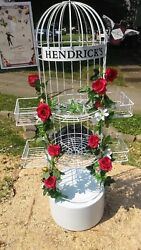 Rare Hendricks Gin Bird Cage Display Shelf William Grant And Son's Collectable New