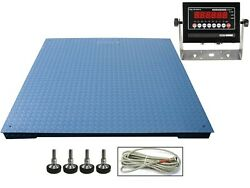 Op-916 Ntep 72 X 72 6and039 X 6and039 Legal For Trade Floor Scale 2500 Lb X .5 Lbs
