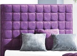 40 Premium Quality Luxury Cube Wall Mounted Headboard 2ft6 3ft 4ft 4ft6 5ft 6ft