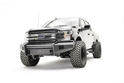 Fab Fours For 18 Ford F-150 Black Steel Elite Pre-runner Bumpers - Ff18-r4562-1