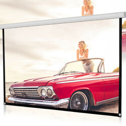 150 inch 16:9 Portable Screen HD Projector Projection Screen Home Theater Movie