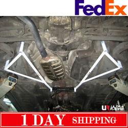 For Bmw E46 3 Series Rear Lower Bar Rear Member Brace 6 Points Comes In Pair