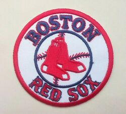 Boston Red Sox Embroidered 3quot; Iron On Patch