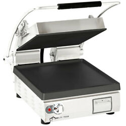 Star Pst14i Pro-max 14 Single Panini Grill Smooth Iron Plate No Timer