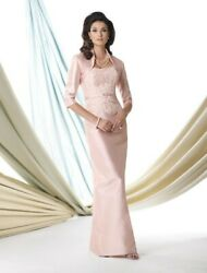 Montage By Elegant 2-piece Mother Of The Bride/groom Shantung Dress