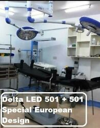 Led501+501 Surgical And Examination Led Ot Light For Surgery Led Or Lamp Double @6