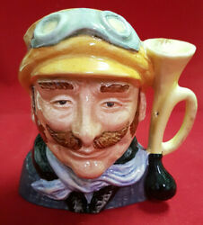 Royal Doulton The Veteran Motorist. D6637 Approx. 4 Tall. Superb Condition.