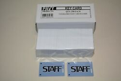 Pavy Hotel Room Key Card 250 Cards + 2x Staff Cards
