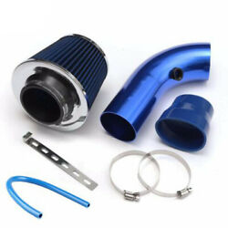 3and039and039 Car Cold Air Intake System Turbo Induction Pipe Tube Filter Kit Alumimum