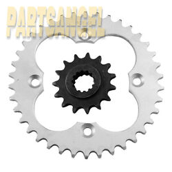 New Front And Rear 14/38 Sprocket For Yamaha Yfz450 Yfz450se 2004-2013 2012 2011