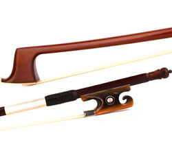 Violin Bow 4/4 Master Advanced Antique Ironwood Red Ox-horn Snail Tail Silver