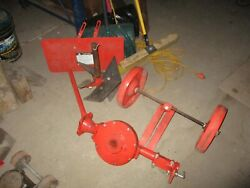 Gravely Tractor Rotary Plow