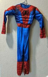 Kid#x27;s Spiderman Costume Multiple Sizes Brand New