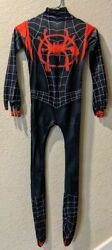 Kid#x27;s Spiderman Costume Multiple Sizes Brand New Miles Morales