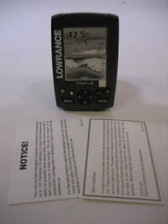 Lowrance Mark 4 Fish / Depth Finder And Chartplotter New - Display Only