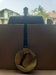 L. B. Gatcomb Banjo For Parts • Sold As Is • Vintage Antique Boston, Ma