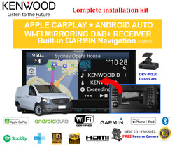 Kenwood Dnx9190dabs For Mercedes Vito 2015-2019 W447 Stereo Upgrade